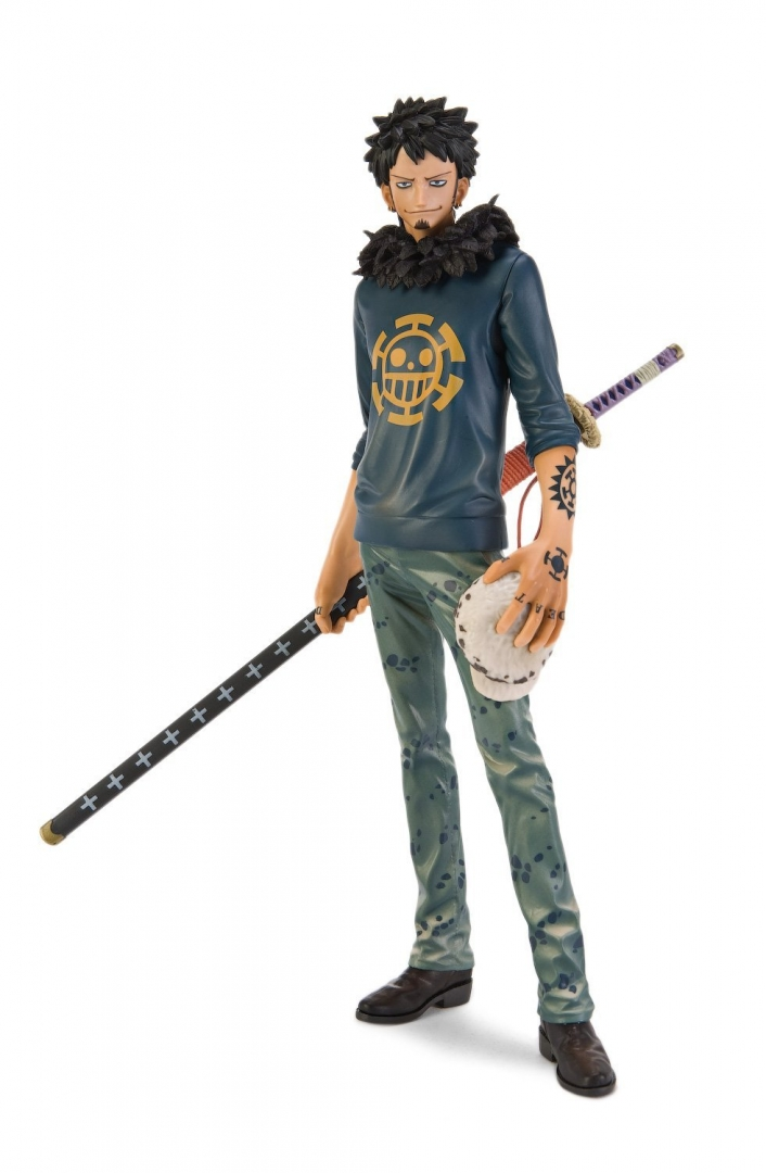 Banpresto One Piece 10.2-Inch Trafalgar Law Master Stars Piece Figure