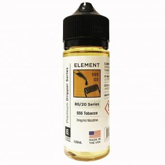 555 Tobacco by Element E-Liquid
