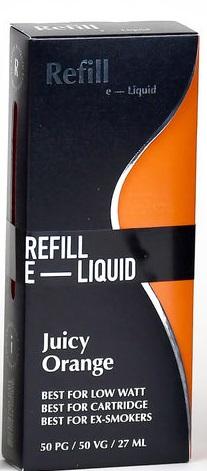 Refill  Shake and Vape-Juicy Orange
