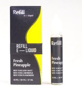 Refill  Shake and Vape-Fresh Pineapple