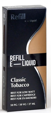 Refill  Shake and Vape-Classicl Tobacco