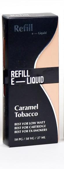 Refill  Shake and Vape-Caramel Tobacco