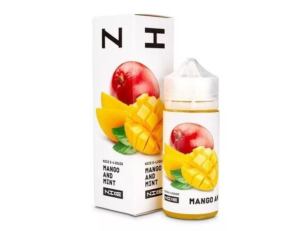 EC NICE Shortfill   Mango and Mint