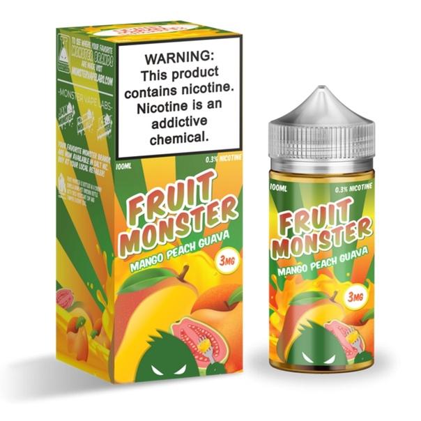 FRUIT MONSTER Mango Peach Guava