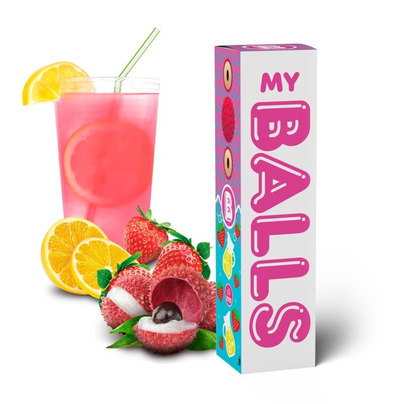BALLS - Lychee Strawberry Lemonade