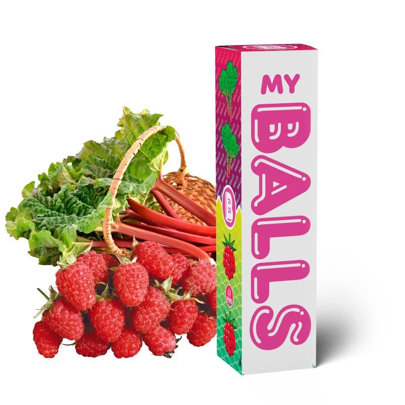 BALLS - Rhubarb Raspberry