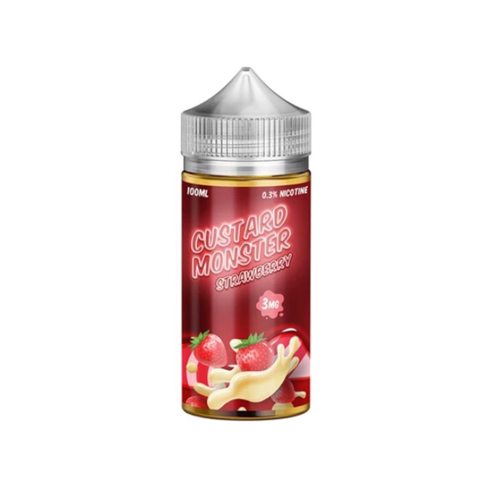 Custard Monster Strawberry (Клубничный заварной крем) 100мл